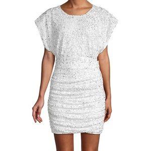 Jay Godfrey Isobel Sequin Mini Dress Sz 12